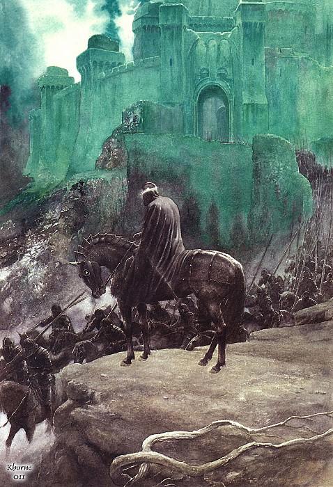 Khorne011 Alan Lee The Witch King. Алан Ли