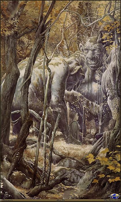 18 Daruma! SWD Alan Lee The Stone Trolls. Алан Ли
