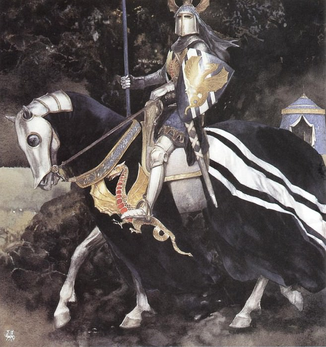 ma Alan Lee The Proud One of the Clearing. Алан Ли