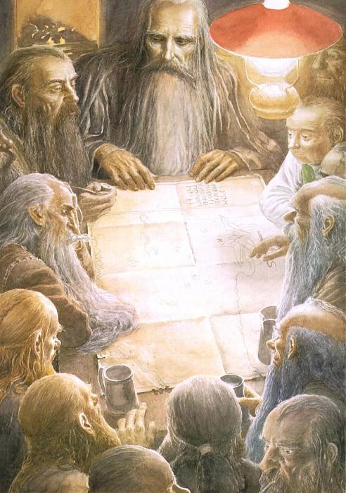 al hobbit 03. Алан Ли