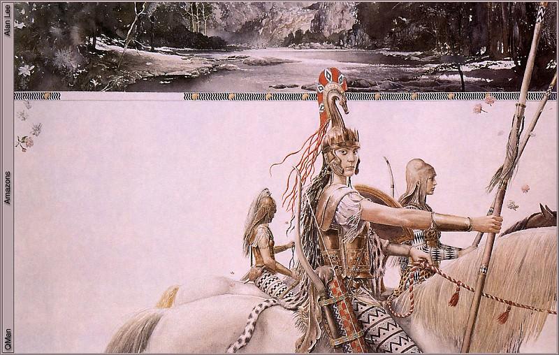 QMan AL FANM 199 Amazons. Алан Ли