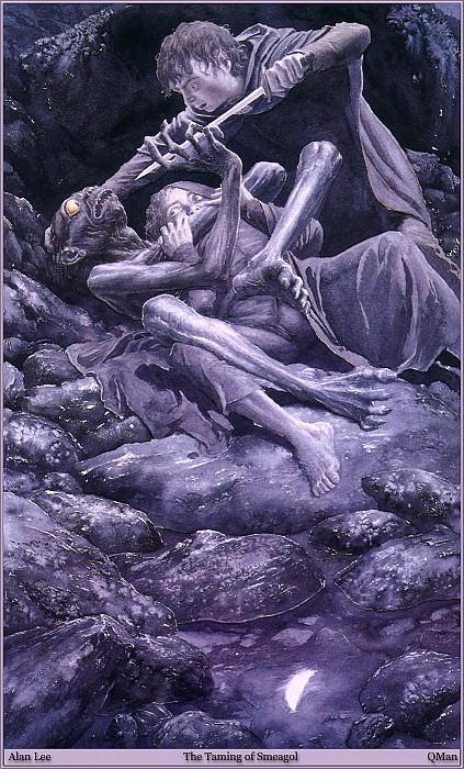 QMan AL RoT 753 The Taming of Smeagol. Алан Ли