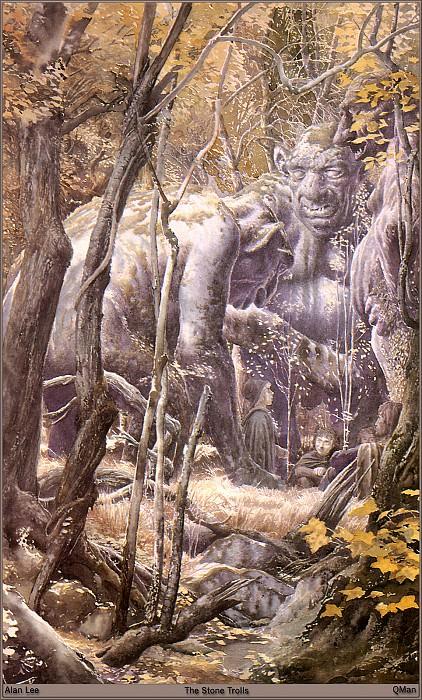 QMAN TN TW 1051 The Stone Trolls. Алан Ли