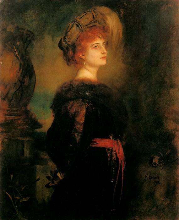 lily merk. Franz von Lenbach