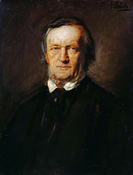 Richard Wagner. Franz von Lenbach