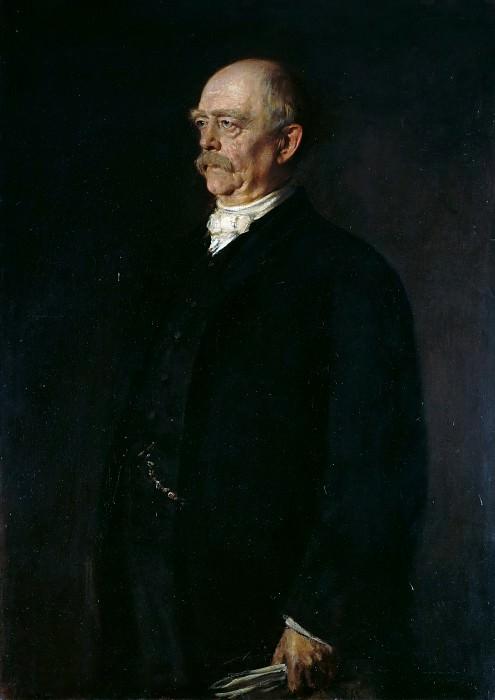 Отто Бисмарк. Франц фон Ленбах