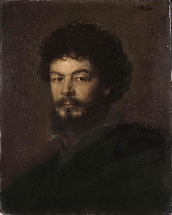 The Architect Lorenz Gedon. Franz von Lenbach