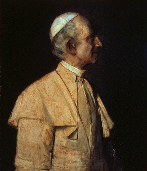 Pope Leo XIII. Franz von Lenbach