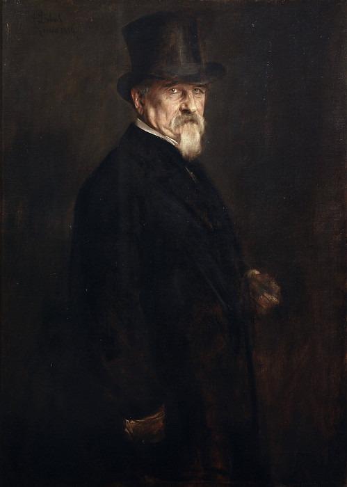 Джованни Морелли. Франц фон Ленбах