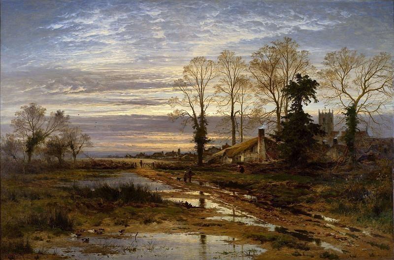 February Fill Dyke. Benjamin Williams Leader