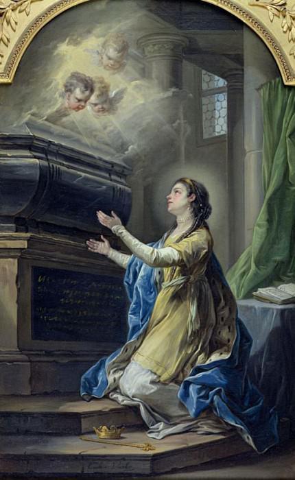 St. Clotilda (474-545). Charles-André van Loo