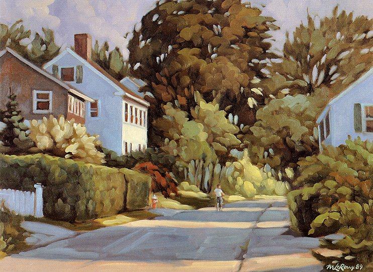 Through Unrecognized Roads. Michel Leroux
