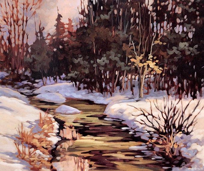 February Water. Michel Leroux