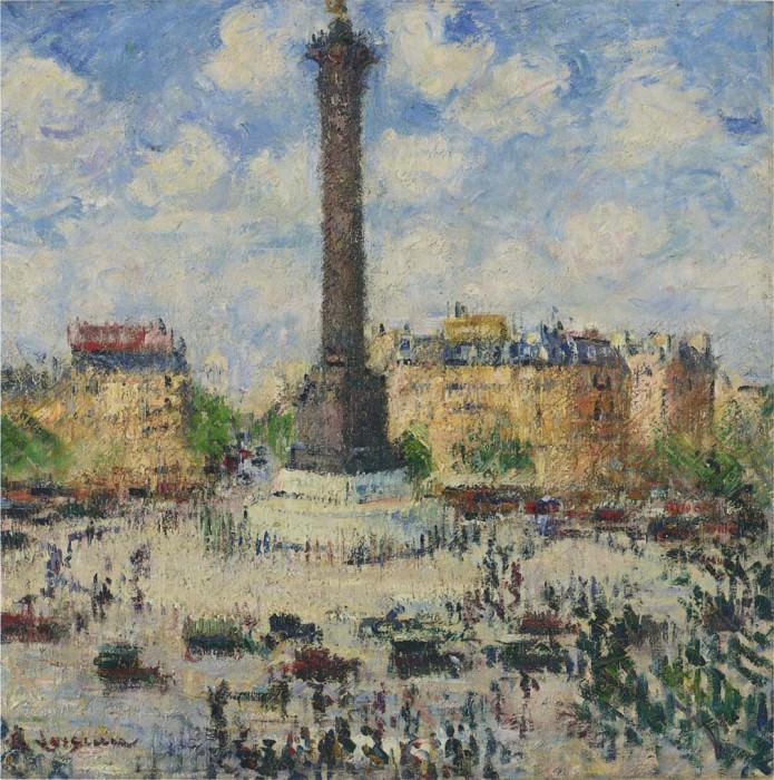 Place de la Bastille. Gustave Loiseau