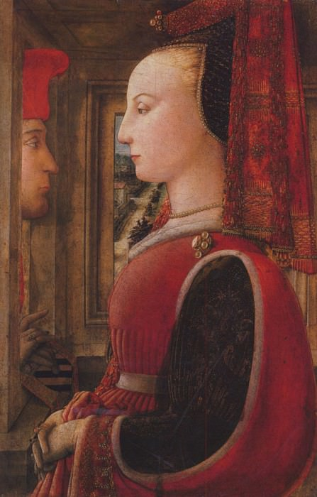 Two figures. Filippino Lippi