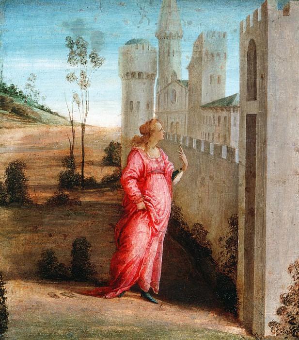 Esther. Filippino Lippi