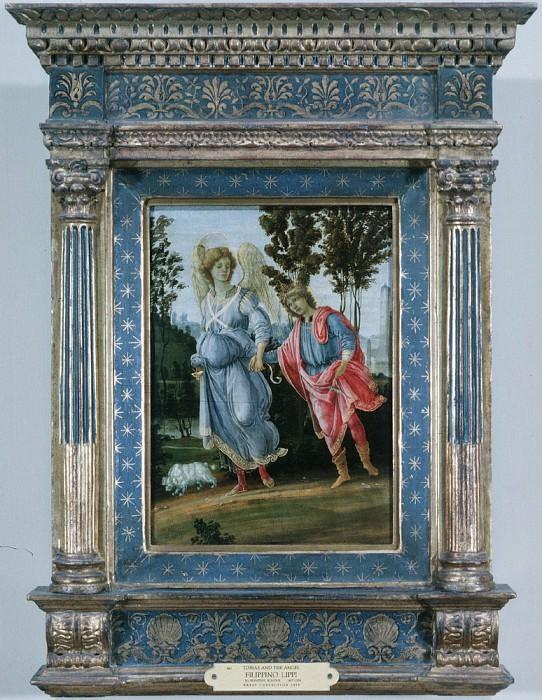 Tobias and the angel. Filippino Lippi
