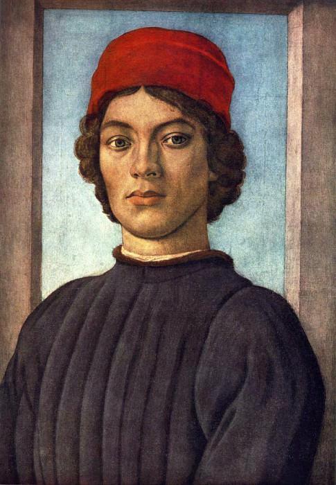 Портрет молодого человека, ок.1485. Филиппино Липпи