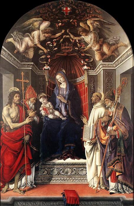 Алтарный образ Мадонны (Палаццо дельи Отто), 1486. Филиппино Липпи