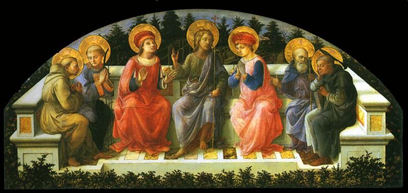 Seven Saints. Filippino Lippi