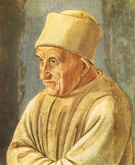 Portrait of an Old Man 1485. Filippino Lippi