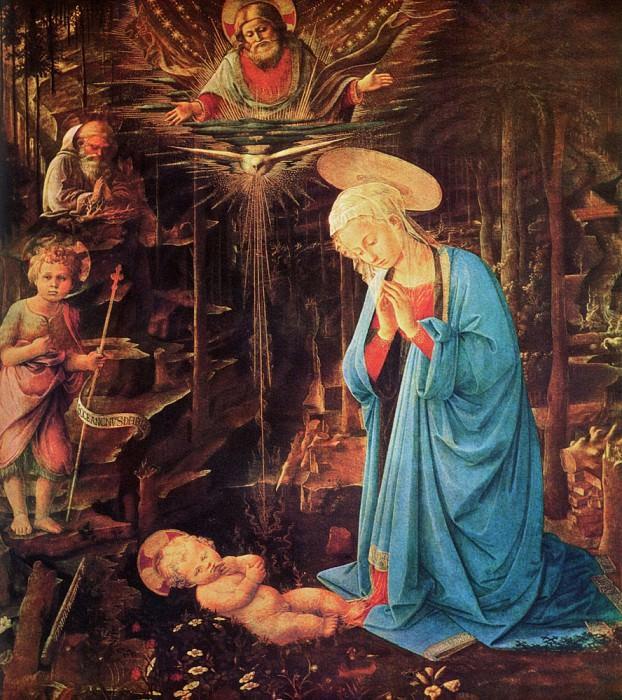 Mary and Child. Filippino Lippi