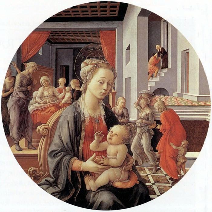 Madonna and Child. Filippino Lippi