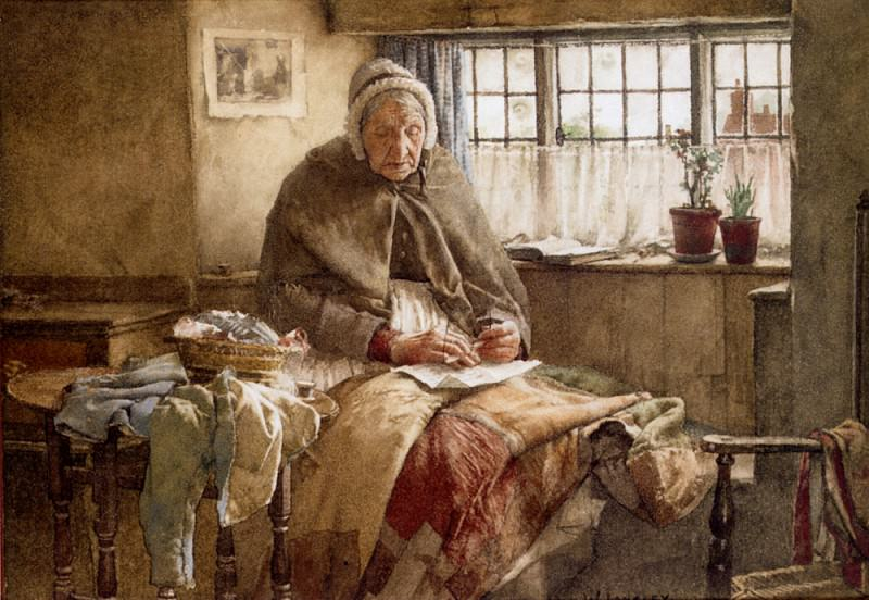 At Evening Time It Shall Be Light. Walter Langley