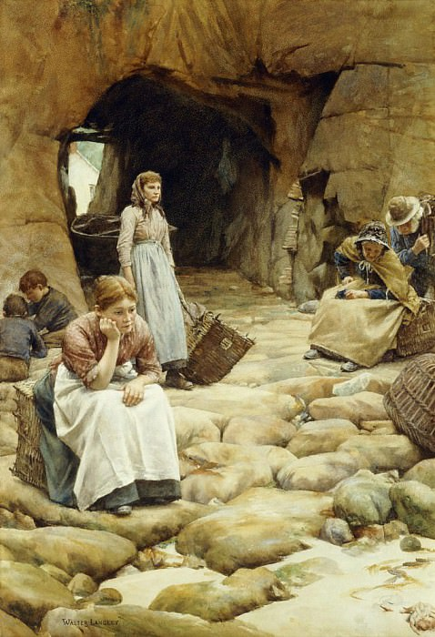 In the Fishing Season. Walter Langley