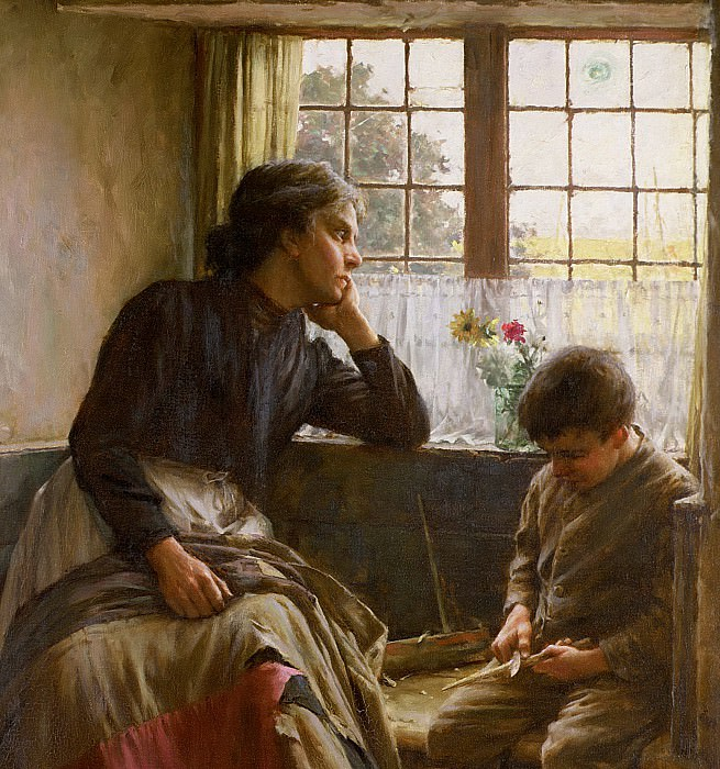 Tender Grace of a Day that is Dead. Walter Langley