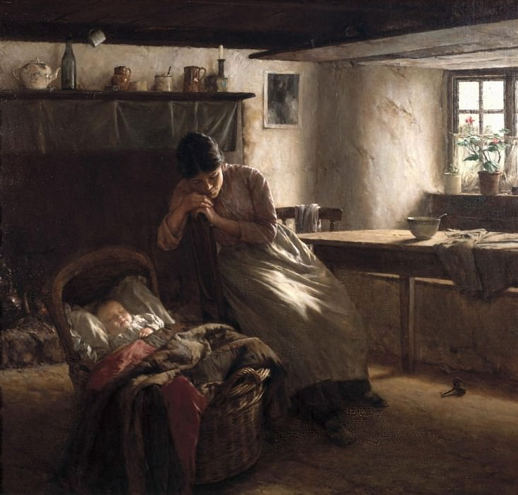 Day Dreams. Walter Langley