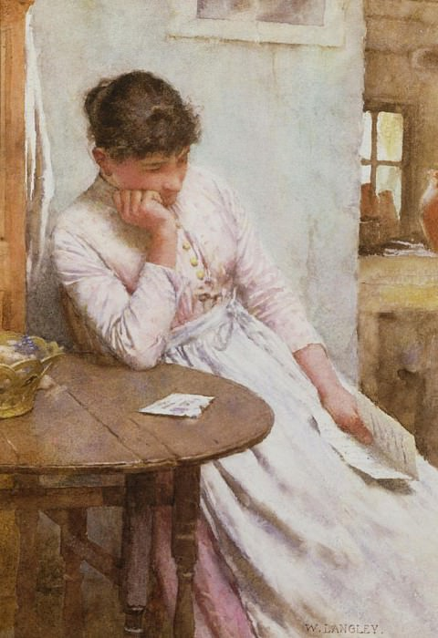 The Letter. Walter Langley