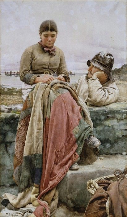 A Lover and His Lass. Walter Langley