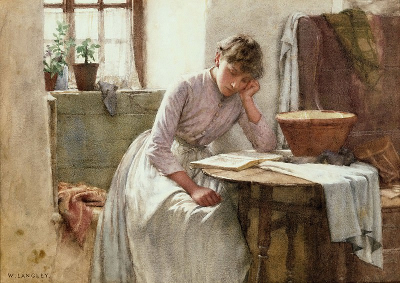 Leisure Moments. Walter Langley