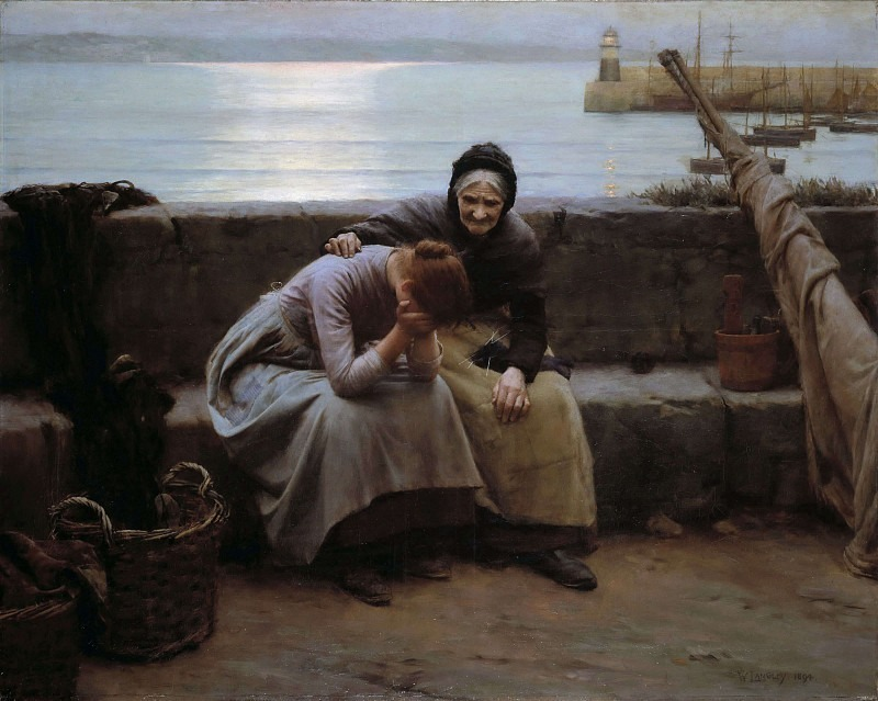 Never Morning Wore to Evening but Some Heart Did Break. Walter Langley