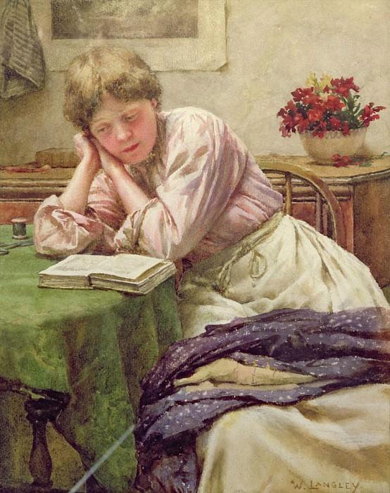 A Quiet Read. Walter Langley
