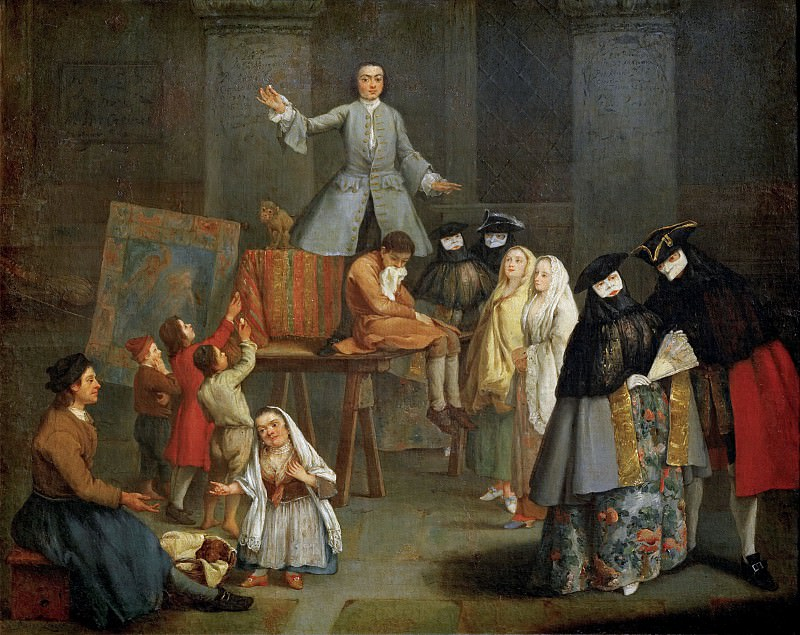 The Tooth Puller. Pietro Longhi