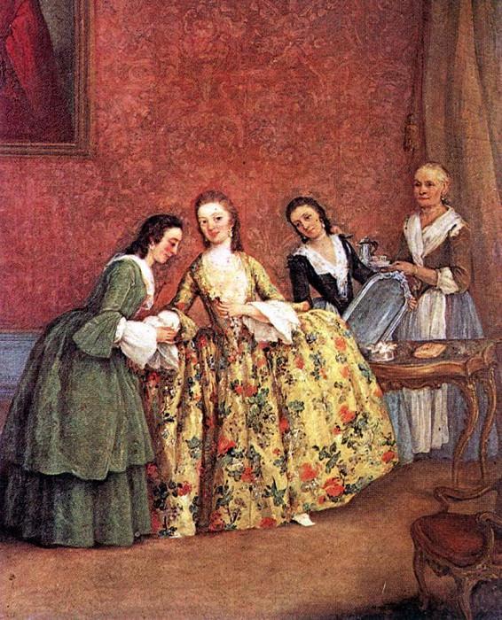 The Venetian Ladys Morning. Pietro Longhi