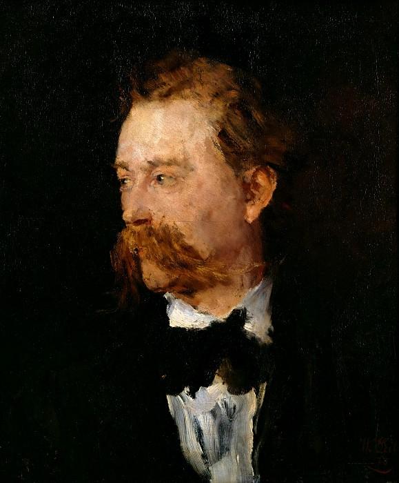 The painter Fritz Paulsen. Wilhelm Leibl