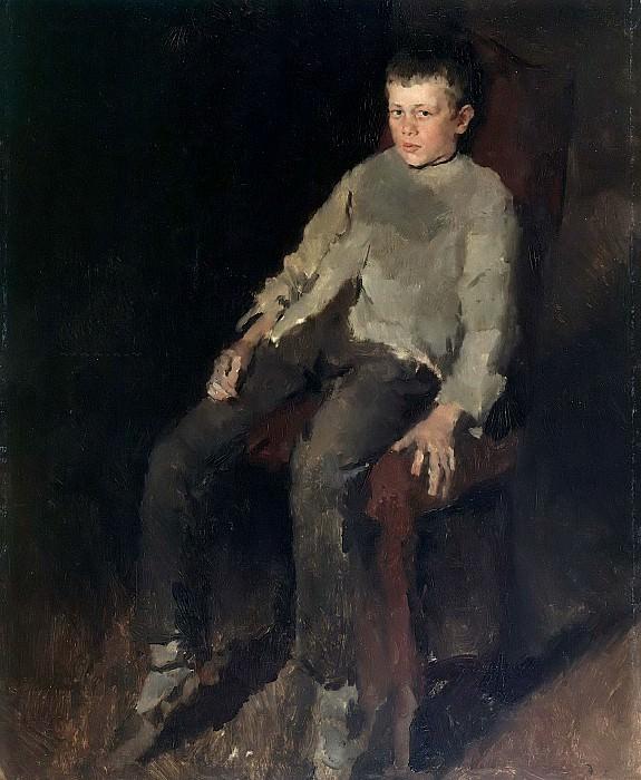 Farmboy. Wilhelm Leibl