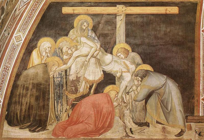 Deposition. Pietro Lorenzetti