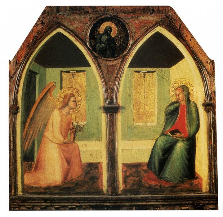 Благовещение. Пьетро Лоренцетти