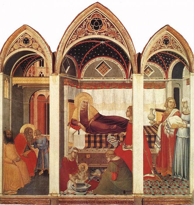 The Birth Of Mary. Pietro Lorenzetti