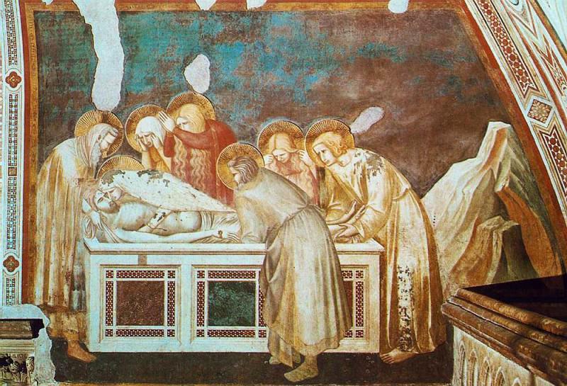 Entombment. Pietro Lorenzetti