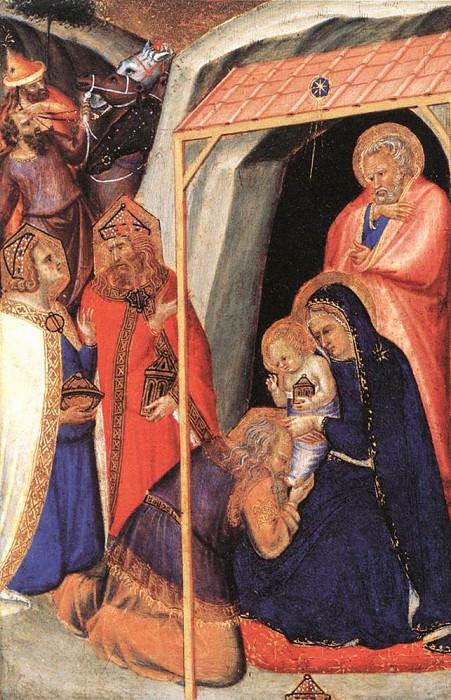 Adoration Of The Magi. Pietro Lorenzetti