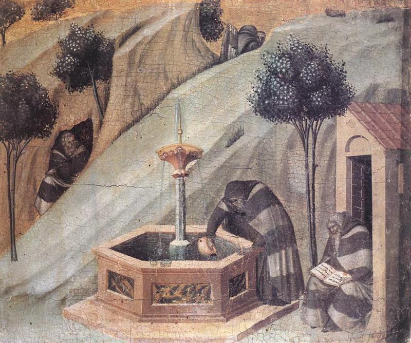 Elishas Well. Pietro Lorenzetti