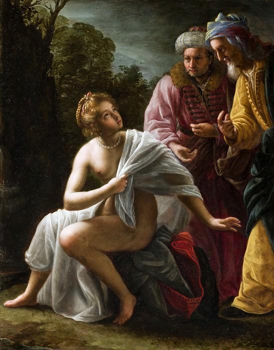 Susanna and the Elders. Ottavio Mario Leoni