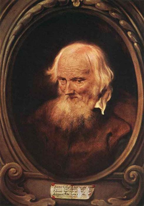 Portrait Of Petrus Egidius De Morrion. Jan Lievens