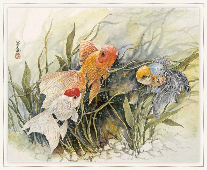 Zhen LianQuan ThreeGoldfish sj. Zhen Lian-Quan