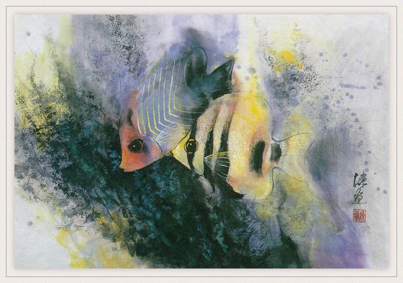 Zhen LianQuan TwoButterflyFish sj. Zhen Lian-Quan